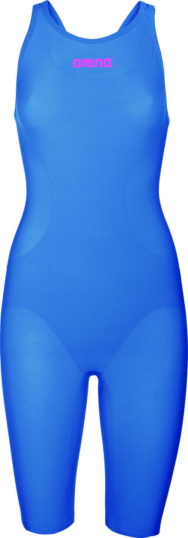 bf8320c2 arena Powerskin R-Evo One Badedrakt Dame blue/powder pink | Gode ...